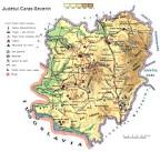Judetul Caras-Severin - Harta Romaniei