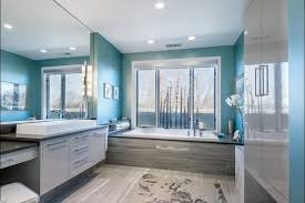 twin gray round mirror frame bathroom paint color schemes awesome