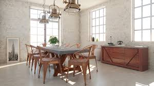 Concrete Dining Room Table Revok Modern Concrete Dining Set