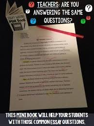 Mini books Other and Student on Pinterest Looking for an essay writing tool that saves teachers