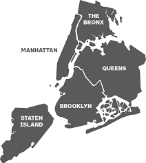 Zip Code Map Brooklyn by Boroughs U0026 Neighborhoods The Official Guide To New York City