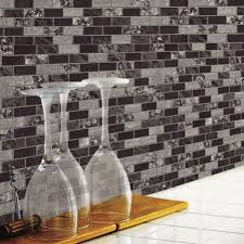 Traditional Marble StickTiles Peel  Stick Backsplash RoomMates - Peel on backsplash