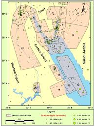 Map Of The Red Sea An Updated Seismic Source Model For Egypt Intechopen