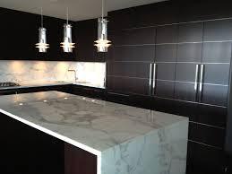 Kitchen Marble Backsplash Furniture Contemporary Kitchen Design With Kitchen Cabinets And