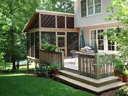 Screen Porch Roof by How To Screen In A Covered Patio Home Design Ideas And Pictures