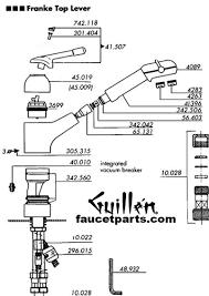 Allora Kitchen Faucet Franke Faucet Parts Kitchen Faucet Components Rigoro Us