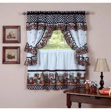 Tuscan Kitchen Curtains Valances by Jcpenney Kitchen Curtains Tuscany Pattern Valances And Tiers With