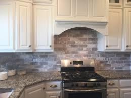 kitchen simple way to spruce up your faux brick backsplash brick wall tiles brick veneer cost faux brick backsplash