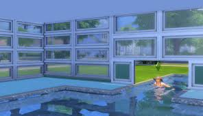 the sims 4 building landscaping pools indoor outdoor sims 4 building how to s sims can then swim under the window into