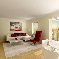 apartment top notch interior design using grey fabric sofa and