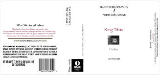 Maine King Titus Porter