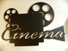 Home Movie Theater Wall Decor Home Theater Decor Movie Reel And Film 21 Metal By Jnjmetalworks