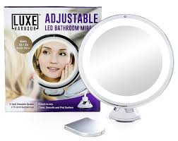 Light Up Makeup Mirror Amazon Com Luxe Harbour Lighted Makeup Mirror 7x Magnification