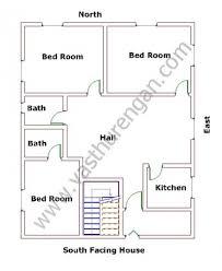 House Layout Design As Per Vastu South Facing Houses Vastu Plan 2 Vasthurengan Com
