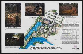 Ecu Campus Map Idaho Shakespeare Festival Site Plan