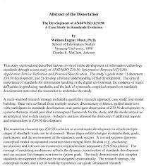 Dissertation proposal sample