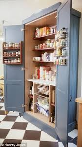 Kitchen Stand Alone Pantry by Smarten Up Your Kitchen Storage With A Fancy Pantry Pantry