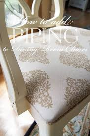 Plastic Seat Covers For Dining Room Chairs by Best 25 Recover Dining Chairs Ideas On Pinterest Upholstered