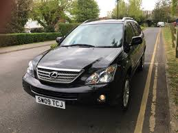 lexus rx400h crossover used 2009 lexus rx 400h 400h limited edition executive for sale in