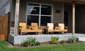 Wood Patio Furniture Sets - furniture ideas heavy duty patio furniture with wooden deck