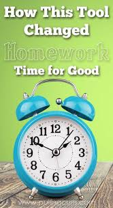 Hoping to find something to help homework time this year  Turns out time can be