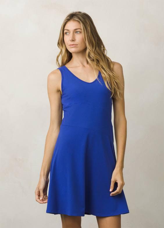 prAna Amelie Dress -Cobalt-Medium