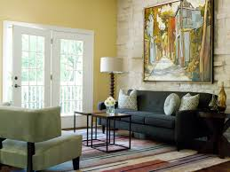 Living Room Wall Photo Ideas Behind The Color Yellow Hgtv