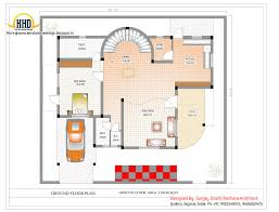 duplex house plan and elevation 3122 sq ft indian house plans
