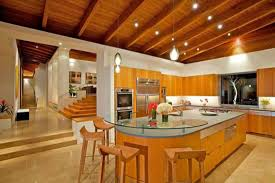 Interior Kitchen Decoration Bright Luxury Kitchen Design With Cheerful Homey Atmosphere