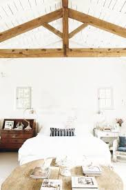 Exposed Beam Ceiling Living Room by A Frame Ceilings Exposed Beam Bedrooms Cococozy