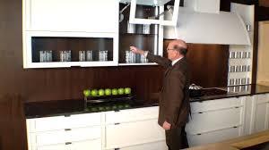 rutt cabinetry with power open blum aventos hf bi fold doors demo