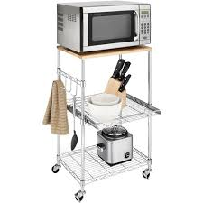 Kitchen Cart With Storage by Microwave Cart With Storage Storage Decorations