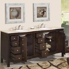 Modern Walnut Bathroom Vanity by 72 U201d Perfecta Pa 5126 Bathroom Vanity Double Sink Cabinet Dark