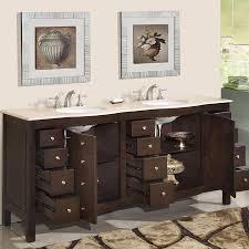 Bathroom Vanity Double by 72 U201d Perfecta Pa 5126 Bathroom Vanity Double Sink Cabinet Dark