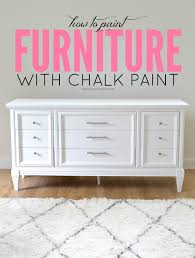 White Shiny Bedroom Furniture Livelovediy How To Paint Furniture With Chalk Paint And How To