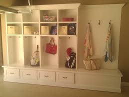 Storage Bench With Hooks by Best 25 Garage Lockers Ideas On Pinterest Garage Entry Garage