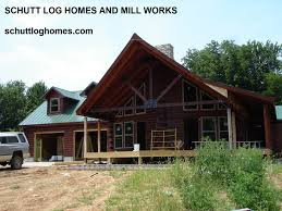chalet u201d oak log home kit u2013 schutt log homes and mill works
