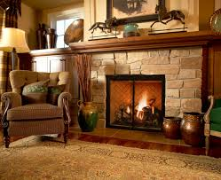 stone fireplace ideas for warm house amazing home decor