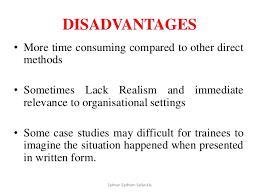Advantages and disadvantages of case studies as a research method     Advantages and disadvantages of case studies as a research method