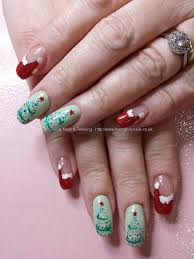 eye candy nails u0026 training red santa hats with contemporary