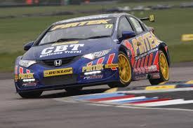 Andrew Jordan celebrates pole position at Thruxton - automobilsport. - btcc-jordan-andrew-pole-thruxton