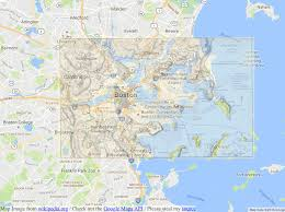 Boston Logan Map by Boston Is Built On Man Made Land U2013 Seeds Of Sustainability