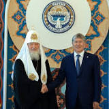 Patriarch Kirill of Moscow, Kyrgyzstan, Eastern Orthodox Church, Bishkek, Russia, Interfax