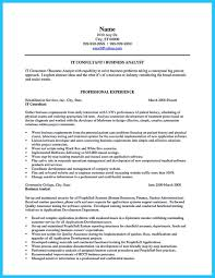 Student Resume Summary Examples by Resume Writing For Business Analyst