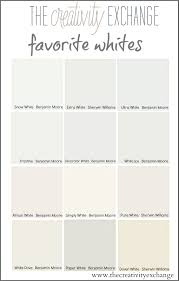 How To Choose Paint Colors For Your Home Interior Tricks For Choosing The Best White Paint Color White Paint