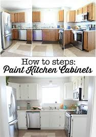 How To Clean Painted Kitchen Cabinets Dover White Kitchen Cabinets Refresh Restyle