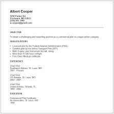 Pilot Resume Examples   electrician resume objective happytom co