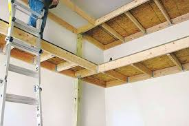 Simple Free Standing Shelf Plans by Garage Shelving Plans U2013 Moonfest Us