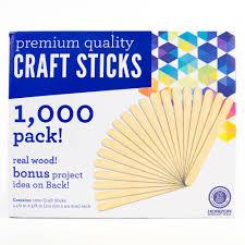kids craft wooden craft sticks 1 000pk walmart com