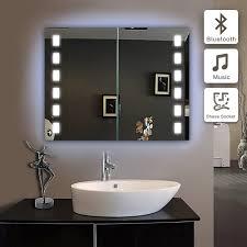 model mc04 650 600 luminaire led bathroom rectangular mirror